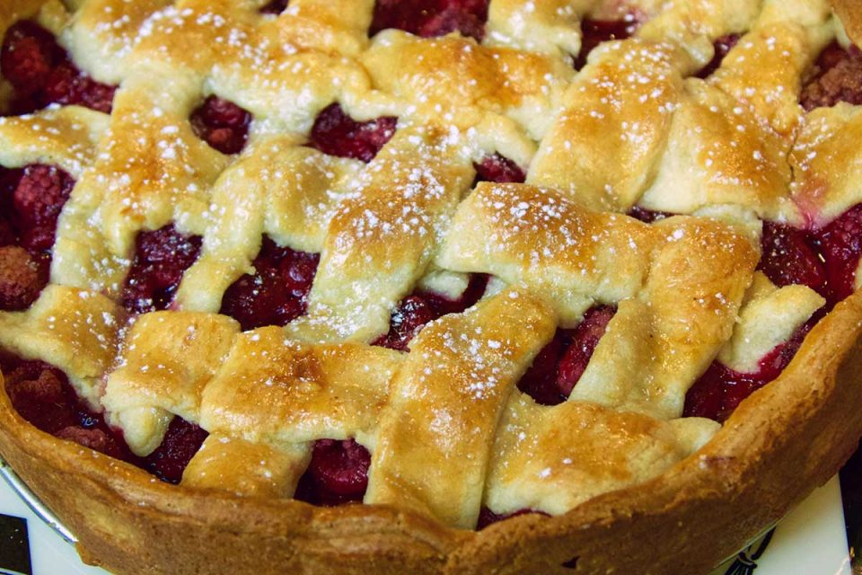 Polish Raspberry Tart